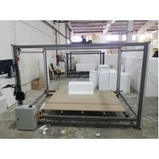 CNC 3D pentru decupat blocuri de polistiren cu 4 Axe independente  ( lungime fir taietor 2100mm )